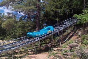 Ausable Chasm Waterraft Conveyor