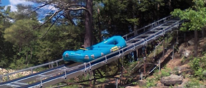 Ausable Chasm Waterraft Conveyor